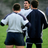 Kees Meeuss-ex All Black, pictured at the Castres training session in Ennis Rugby Grounds on Friday ahead of thier meeting with Munster in Thomand Park.Pic. Brian Arthur/ Press 22.