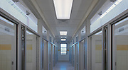 Interior photo of Montgomery County Animal Shelter in Gaithersburg MD by Jeffrey Sauers of Commercial Photographics In Washington DC, Virginia to Florida and PA to New England