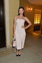 LEAH WELLER at the Lancôme BAFTA Dinner held at The Cafe Royal, Regent's Street, London on 6th February 2015.