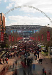 - Photo mandatory by-line: Joe Meredith/JMP - Mobile: 07966 386802 - 22/03/2015 - SPORT - Football - London - Wembley Stadium - Bristol City v Walsall - Johnstone Paint Trophy Final