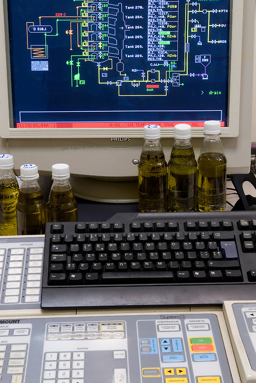 the olive oil refinery monitor