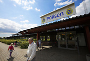 Ystad. The Police Headquarters at Kristianstadvägen 51. Henning Mankell's fictitious inspector Kurt Wallander is operating from here.