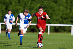BLACKBURN, ENGLAND - Saturday, January 6, 2018: Liverpool's Liam Millar during an Under-18 FA Premier League match between Blackburn Rovers FC and Liverpool FC at Brockhall Village Training Ground. (Pic by David Rawcliffe/Propaganda)