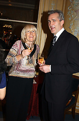 ROSIE GRAY and JEREMY KING at the Conde Nast Traveller magazine Tsunami Appeal Dinner at the Four Seasons Hotel, Hamilton Place, London W1 on 2nd March 2005.<br /><br />NON EXCLUSIVE - WORLD RIGHTS
