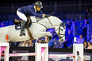 Jose Maria Larocca - Cornet du Lys<br /> Jumping Indoor Maastricht 2017<br /> © DigiShots