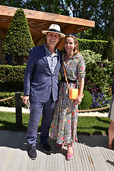 Darcey Bussell and Angus Forbes at the RHS Chelsea Flower Show Press Day, Royal Hospital Chelsea, London England. 22 May 2017.<br /> Photo by Dominic O'Neill/SilverHub 0203 174 1069 sales@silverhubmedia.com