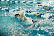 Mikayla Klein competes in the 200 Yard Freestyle finals of the 2016 NYSPHSAA Swimming and Diving Championships held at Ithaca College on Saturday.