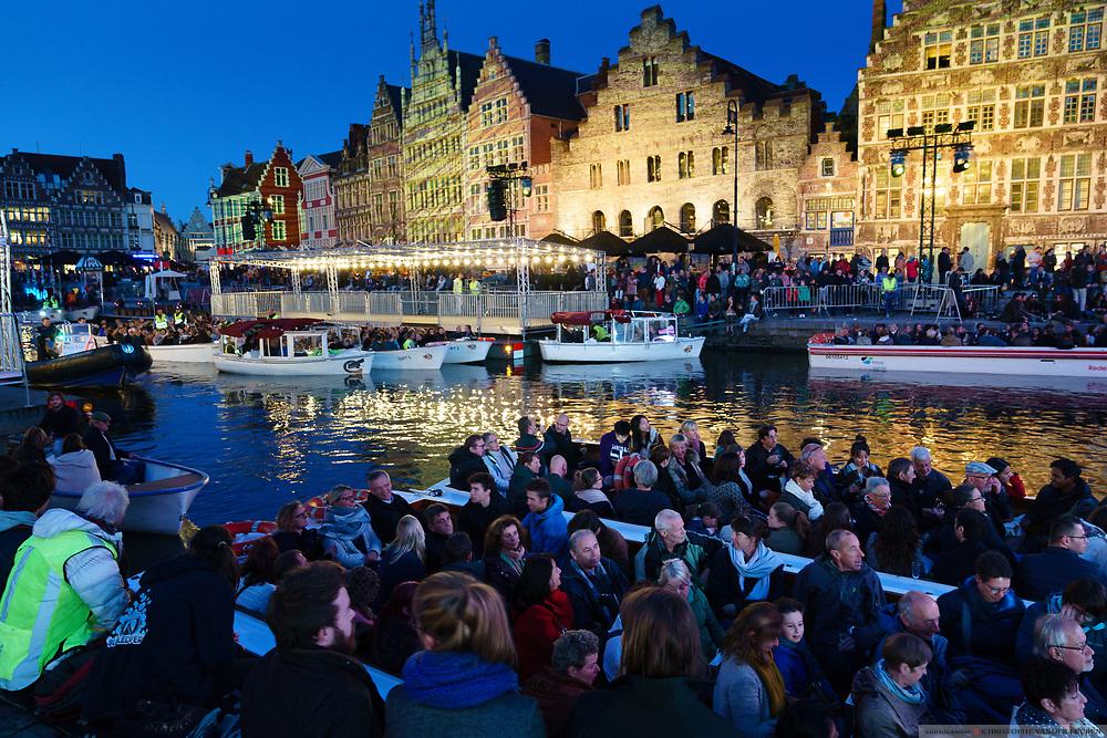 Gent, Belgie, 15 sept 2017, Ouverture OdeGand Festival van Vlaanderen