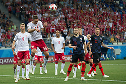 July 1, 2018 - Nizhny Novgorod, Russia - Henrik Dalsgaard of Denmark during the 2018 FIFA World Cup Russia Round of 16 match between Croatia and Denmark at Nizhny Novgorod Stadium on July 1, 2018 in Nizhny Novgorod, Russia. (Credit Image: © Foto Olimpik/NurPhoto via ZUMA Press)