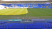 The Madejski Stadium before the The FA Cup fourth round match between Reading and Walsall at the Madejski Stadium, Reading, England on 30 January 2016. Photo by Mark Davies.