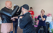 Rock Steady Boxing, Mainline, Wayne PA. © 2018 Ed Hille
