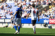 Ipswich Town midfielder James Norwood celebrates the 5-0 during the EFL Sky Bet League 1 match between Bolton Wanderers and Ipswich Town at the University of  Bolton Stadium, Bolton, England on 24 August 2019.