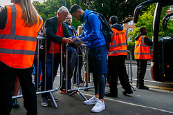 Alex Jakubiak of Bristol Rovers arrives at Loftus Road prior to kick off  - Mandatory by-line: Ryan Hiscott/JMP - 28/08/2018 - FOOTBALL - Loftus Road - London, England - Queens Park Rangers v Bristol Rovers - Carabao Cup