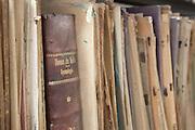 Salvador_BA, Brasil.<br /> <br /> Obras raras da biblioteca da Escola de Medicina da Bahia em Salvador.<br /> <br /> Rare books in the library from the Medicine School of Bahia in Salvador.<br /> <br /> Foto: ALEXANDRE BAXTER / NITRO