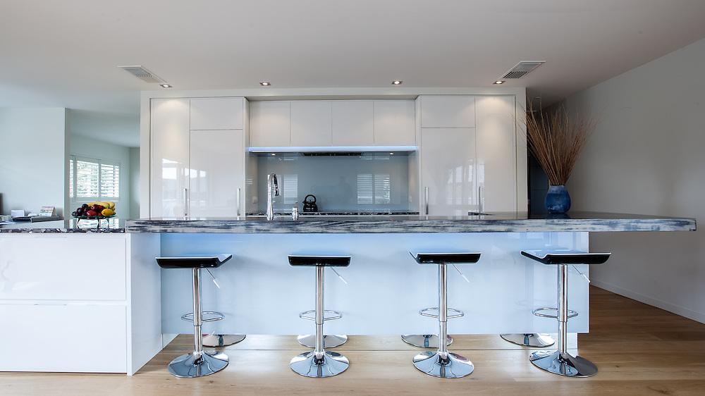 Kitchen Link kitchen at 38A Oceanview Road, Milford, Auckland. Photo:Gareth Cooke/Subzero