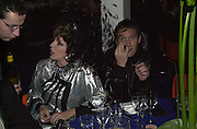 Joan Collins & A.A. Gill.<br />