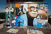 Ariana Escudero, muralist, Tijuana...© Stefan Falke.http://www.stefanfalke.com/..