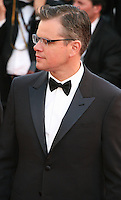 Actor Matt Damon.at the 'Behind The Candelabra' gala screening at the Cannes Film Festival  Tuesday 21 May 2013