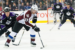 Milan Hejduk (Colorado Avalanche, #23) during ice-hockey match between Los Angeles Kings and Colorado Avalanche in NHL league, February 26, 2011 at Staples Center, Los Angeles, USA. (Photo By Matic Klansek Velej / Sportida.com)