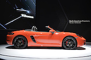 The Porsche 718 Boxster S makes its North American premiere at the New York International Auto Show 2016, at the Jacob Javits Center. This was Press Preview Day one of NYIAS, and the Trade Show will be open to the public for ten days, March 25th through April 3rd.