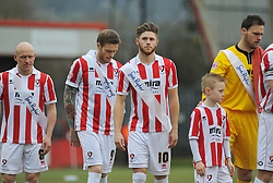 - Photo mandatory by-line: Nizaam Jones - Mobile: 07966 386802 - 14/02/2015 - SPORT - Football - Cheltenham - Whaddon Road - Cheltenham Town v Bury - Sky Bet League Two