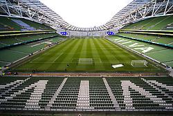 A general view of the Aviva Stadium - Mandatory by-line: Matt McNulty/JMP - 02/08/2017 - FOOTBALL - Aviva Stadium - Dublin,  - Manchester United v Sampdoria - Pre-Season friendly