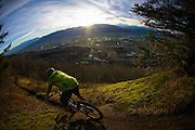 Mountain biking<br /> Ledgeview<br /> Abbotsford, BC<br /> February 16, 2015