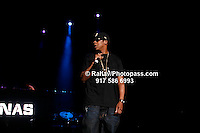 Jay-Z  performing at Nikon at Jones Beach Amphitheater for 'Rock The Bells' 2008 on August 3, 2008. . Rock The Bells