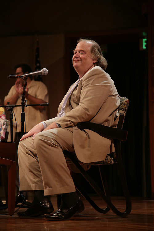 Pulitzer Prize winning food critic Jonathan Gold of the L.A. Weekly is interviewed by by Monica Corcoran, Style Editor at Variety, as part of Zócalo at the Los Angeles Central Library.