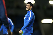 Brighton striker, Richie Towell (29) during the Sky Bet Championship match between Brighton and Hove Albion and Brentford at the American Express Community Stadium, Brighton and Hove, England on 5 February 2016.