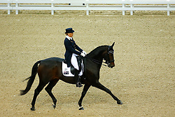 Hanna Mary, (AUS), Umbro<br /> Grand Prix Freestyle<br /> Reem Acra FEI World Cup Dressage Final II<br /> © Dirk Caremans