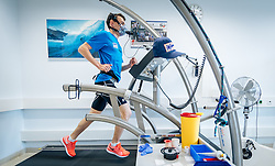 02.05.2016, Bezirkskrankenhaus, St. Johann i.T., AUT, OeSV, Skisprung, Sportmedizinische Untersuchung, im Bild Stefan Kraft (AUT) // Stefan Kraft of Austria undergoes his medical examination of the Austrian Skijumping Team at the Sports Medicine Institute, St. Johann i.T. on 2016/05/02. EXPA Pictures © 2016, PhotoCredit: EXPA/ JFK