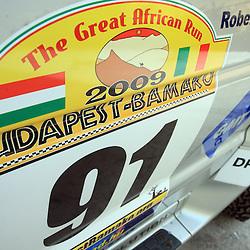 20090113: Autosport - Team Funck at rally Budapest - Bamako 2009