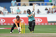 Bryony Smith of Surrey Stars batting during the Women's Cricket Super League match between Southern Vipers and Surrey Stars at the 1st Central County Ground, Hove, United Kingdom on 14 August 2018.
