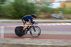 Tayler Wiles (USA) at Boels Ladies Tour 2018 - Prologue, a 3.3 km time trial in Arnhem, Netherlands on August 28, 2018. Photo by Sean Robinson/velofocus.com