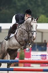 Nalis Rianne, (NED), Grover<br /> Isah Cup 4 Jarige springpaarden <br /> KWPN Kampioenschappen Ermelo 2015<br /> © Hippo Foto - Dirk Caremans