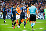 Antoine Griezmann (FRA) and Kylian Mbappe (FRA) during the UEFA Nations League, League A, Group 1 football match between France and Netherlands on September 9, 2018 at Stade de France stadium in Saint-Denis near Paris, France - Photo Stephane Allaman / ProSportsImages / DPPI