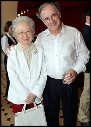 L to R  Countess Ceschina, Sir Clive Gillinson attend the National Youth Orchestra of The United States of America Reception at the <br /> The Royal Albert Hall hosted be Ronald O.Perelman, London, United Kingdom,<br /> Sunday, 21st July 2013<br /> Picture by Andrew Parsons / i-Images