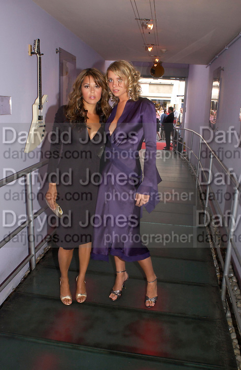 Danielle Bux and Laura Russo. Polo players party hosted by AJM International Publishing and Cartier celebrating the 21st anniversary of the Cartier International Polo. The Collection, London. ONE TIME USE ONLY - DO NOT ARCHIVE  © Copyright Photograph by Dafydd Jones 66 Stockwell Park Rd. London SW9 0DA Tel 020 7733 0108 www.dafjones.com