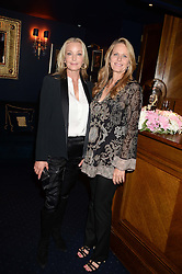 Left to right, BO DEREK and her sister KELLY McGILL at the launch of TAG Heuer's new Aquaracer in the presence of long term friend of the brand Bo Derek held at Tramp, Jermyn Street, London on 8th October 2013.