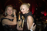 MRS. ARNAUD ( CARLA)  BAMBERGER AND JOELY RICHARDSON, Cartier Dinner to celebrate the re-opening of the Cartier U.K. flagship store, New Bond St. Natural History Museum. 17 October 2007. -DO NOT ARCHIVE-© Copyright Photograph by Dafydd Jones. 248 Clapham Rd. London SW9 0PZ. Tel 0207 820 0771. www.dafjones.com.