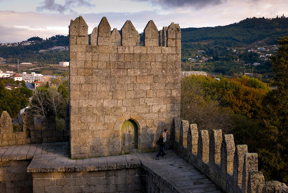 The center of the old town of Guimaraes is a UNESCO World Heritage Site. It was here that Portugal was born as a country.