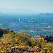 Phoenix view from South Mountain - AZ