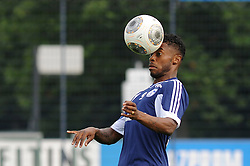 17.07.2013, Trainingsgelaende, Veltins Arena, GER, 1. FBL, FC Schalke 04 Training, im Bild Michel Bastos ( Schalke 04/ Freisteller ), // during a Training Session of German Bundesliga Club Fc Schalke 04 at the Training Ground, Veltins Arena, Germany on 2013/07/17. EXPA Pictures © 2013, PhotoCredit: EXPA/ Eibner/ Thomas Thienel<br /> <br /> ***** ATTENTION - OUT OF GER *****