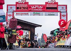 12.07.2019, Kitzbühel, AUT, Ö-Tour, Österreich Radrundfahrt, 6. Etappe, von Kitzbühel nach Kitzbüheler Horn (116,7 km), im Bild v.l. Patrick Schelling (Team Vorarlberg Santic), Aleksandr Vlasov (RUS, Gazprom - Rusvelo) Etappensieger // f.l. Patrick Schelling of Switzerland (Team Vorarlberg Santic) Aleksandr Vlasov of Russia (Gazprom - Rusvelo) stage winner during 6th stage from Kitzbühel to Kitzbüheler Horn (116,7 km) of the 2019 Tour of Austria. Kitzbühel, Austria on 2019/07/12. EXPA Pictures © 2019, PhotoCredit: EXPA/ Reinhard Eisenbauer