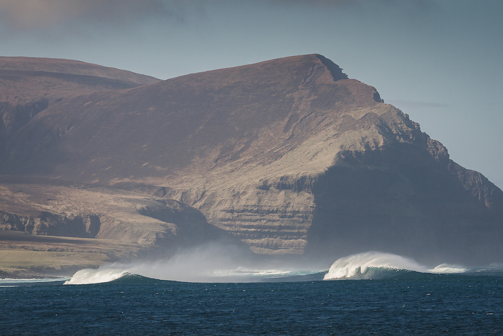 Island of Hoy from the town of Stomness on Orkney