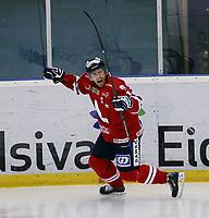 Ishockey , Get - ligaen <br /> 08.10.09 <br /> Kristins Hall<br /> Lillehammer I.K  v   Sparta Sarpsborg  2-1<br /> <br /> Foto:Dagfinn Limoseth  -  Digitalsport<br /> Stefan Sjødin , Lillehammer