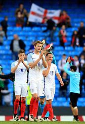 England players thank the fans at full time - Mandatory byline: Matt McNulty/JMP - 07966386802 - 22/05/2016 - FOOTBALL - Etihad Stadium -Manchester,England - England v Turkey - International Friendly
