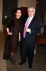 PHYLLIS, COUNTESS SONDES  and LORD LAMONT at a fundraising evening for the Conservative Party General Election Campaign Fund held at Bonhams, 101 New Bond Street, London W1 on 17th March 2005.<br /><br />NON EXCLUSIVE - WORLD RIGHTS
