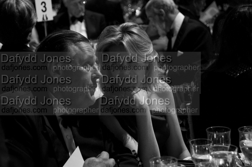 DAVID KER; VISCOUNTESS LINLEY, The Ormeley dinner in aid of the Ecology Trust and the Aspinall Foundation. Ormeley Lodge. Richmond. London. 29 April 2009